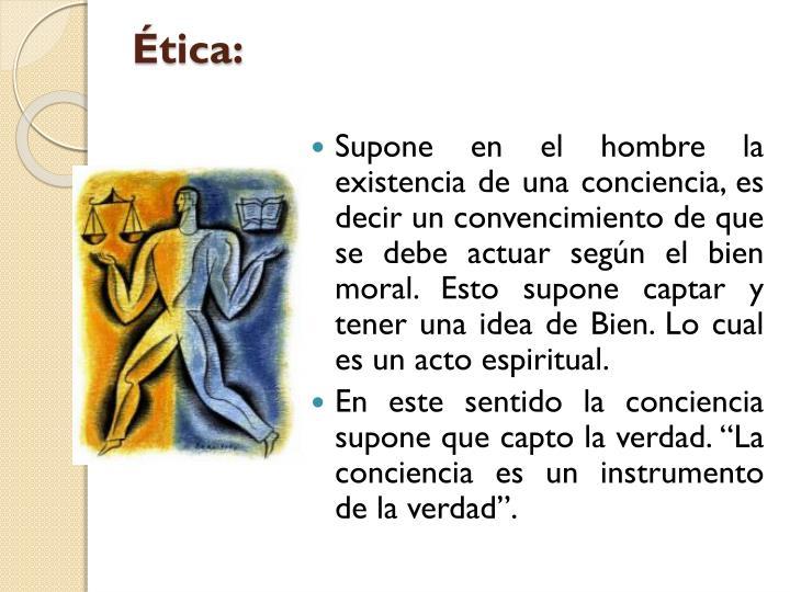 Ética: