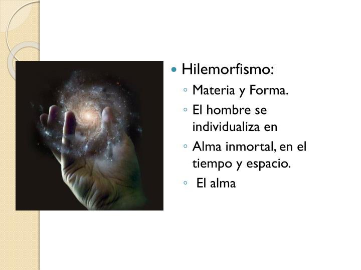 Hilemorfismo