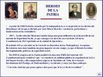 heroes de la patria