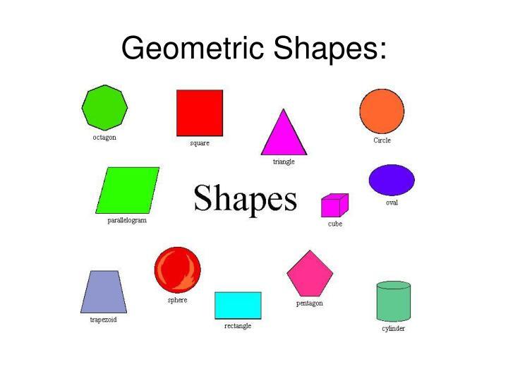 Geometric Shapes: