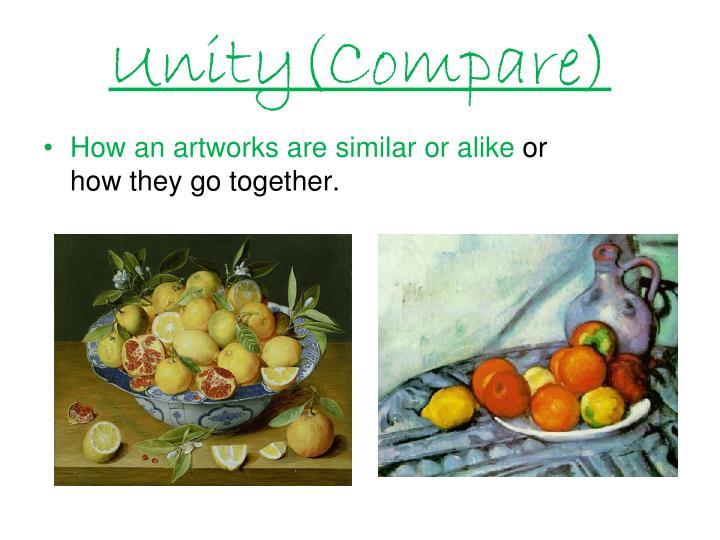 Unity(Compare)