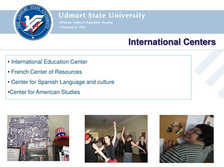 International Centers