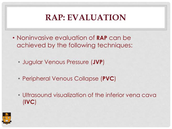 RAP: Evaluation