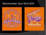 merchandise gym shirt 20