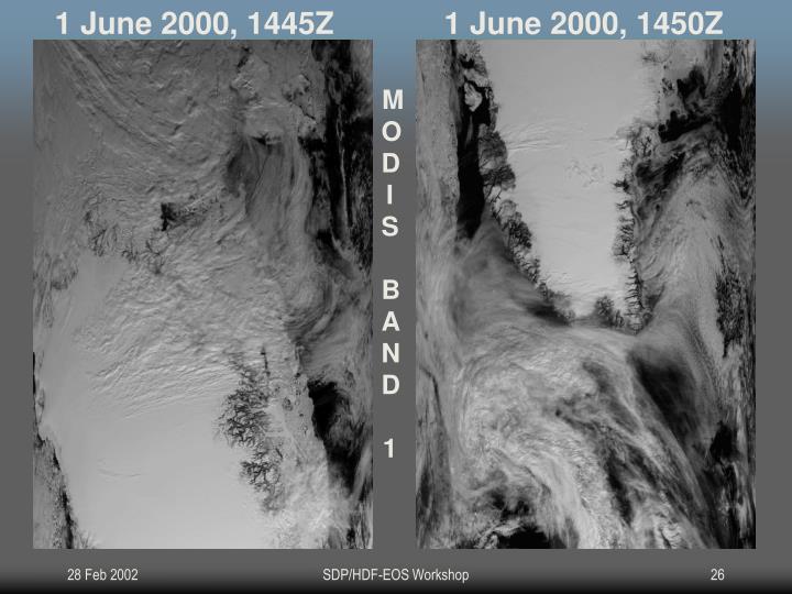 1 June 2000, 1445Z