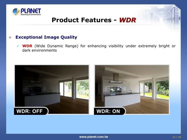 Product Features -
