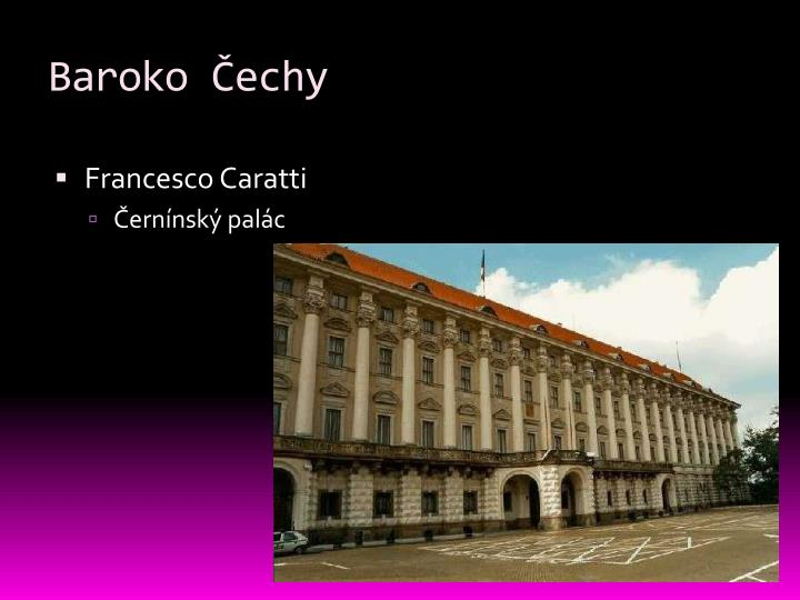 Baroko Čechy
