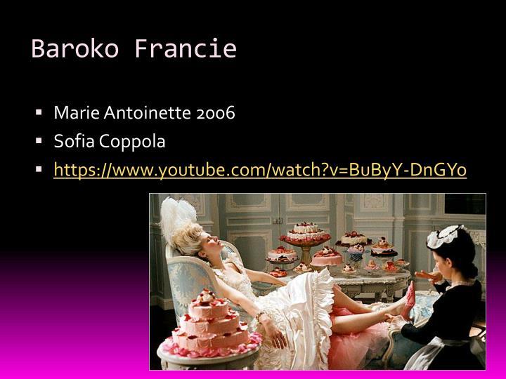 Baroko francie