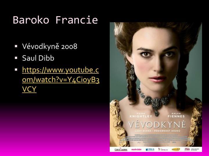 Baroko francie1