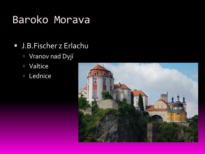 Baroko Morava