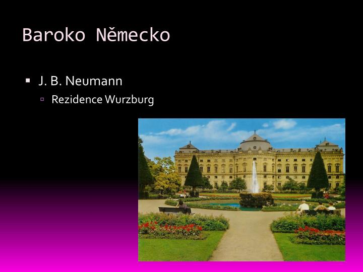 Baroko Německo