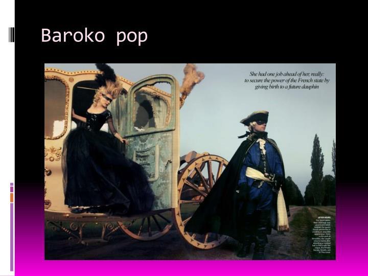 Baroko pop