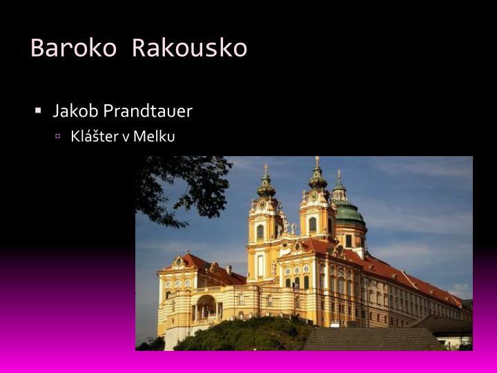 Baroko Rakousko
