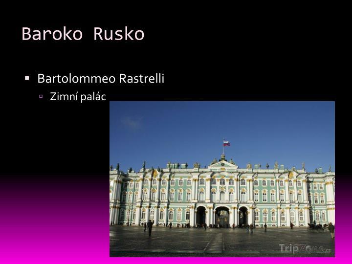 Baroko Rusko