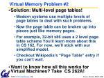 virtual memory problem 21