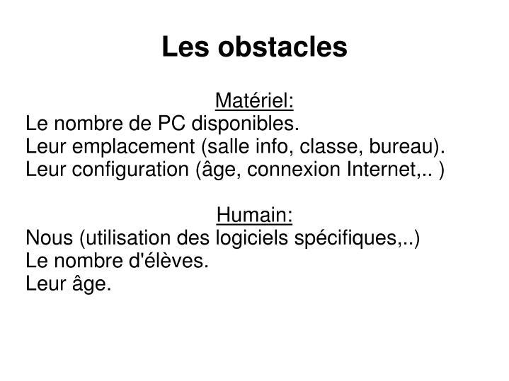 Matériel: