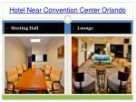 hotel near convention center orlando