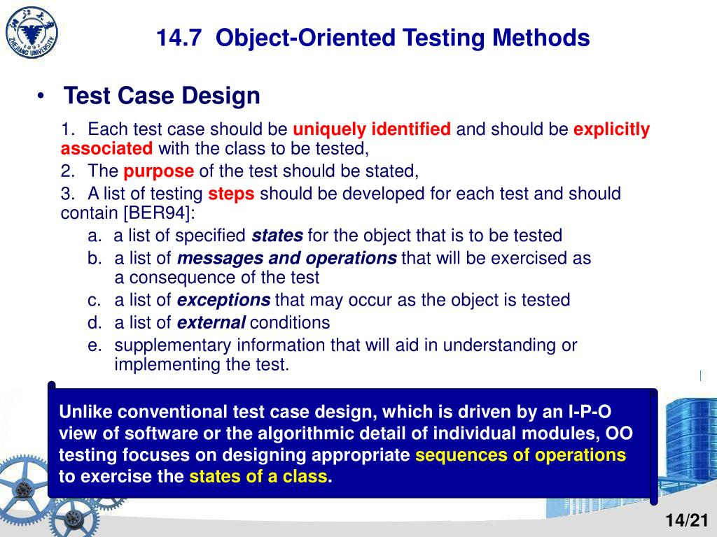 Ppt Chapter 14 Testing Tactics Powerpoint Presentation Free Download Id 5239669