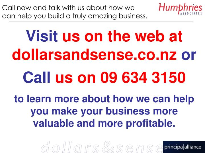 Call now and talk with us about how we can help you build a truly amazing business.