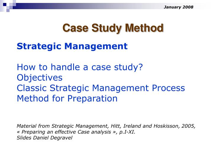 case studies in strategic management doc 1 a student's guide to analysing case studies the purpose of this guide is to help you to maximise your learning when using case studies it outlines some key issues in using case studies for improving.