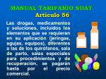 manual tarifario soat art culo 56