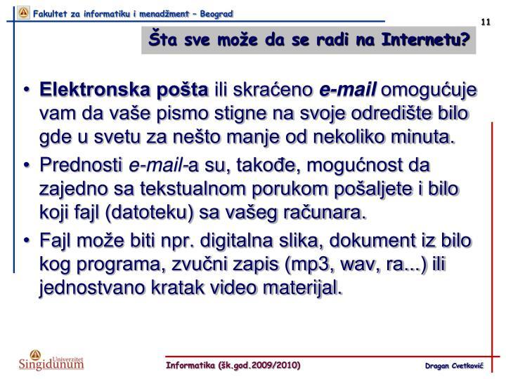 Elektronska pošta