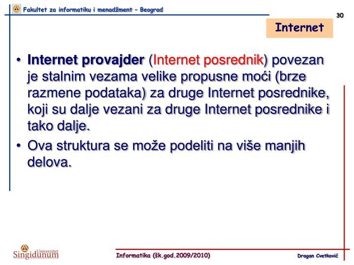 Internet provajder