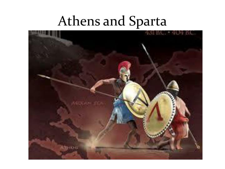 development of athens and sparta