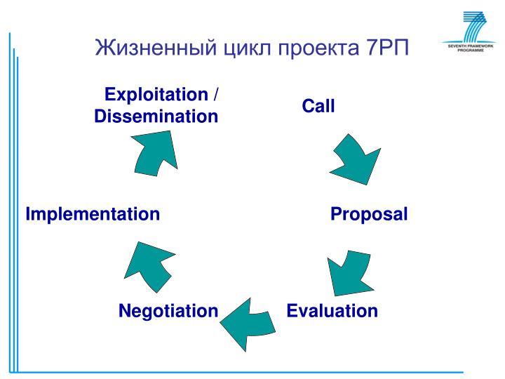 Жизненный цикл проекта 7РП