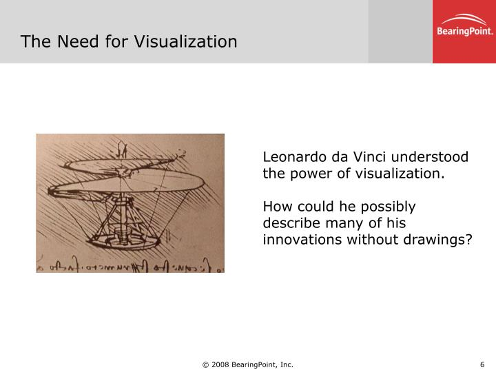 The Need for Visualization