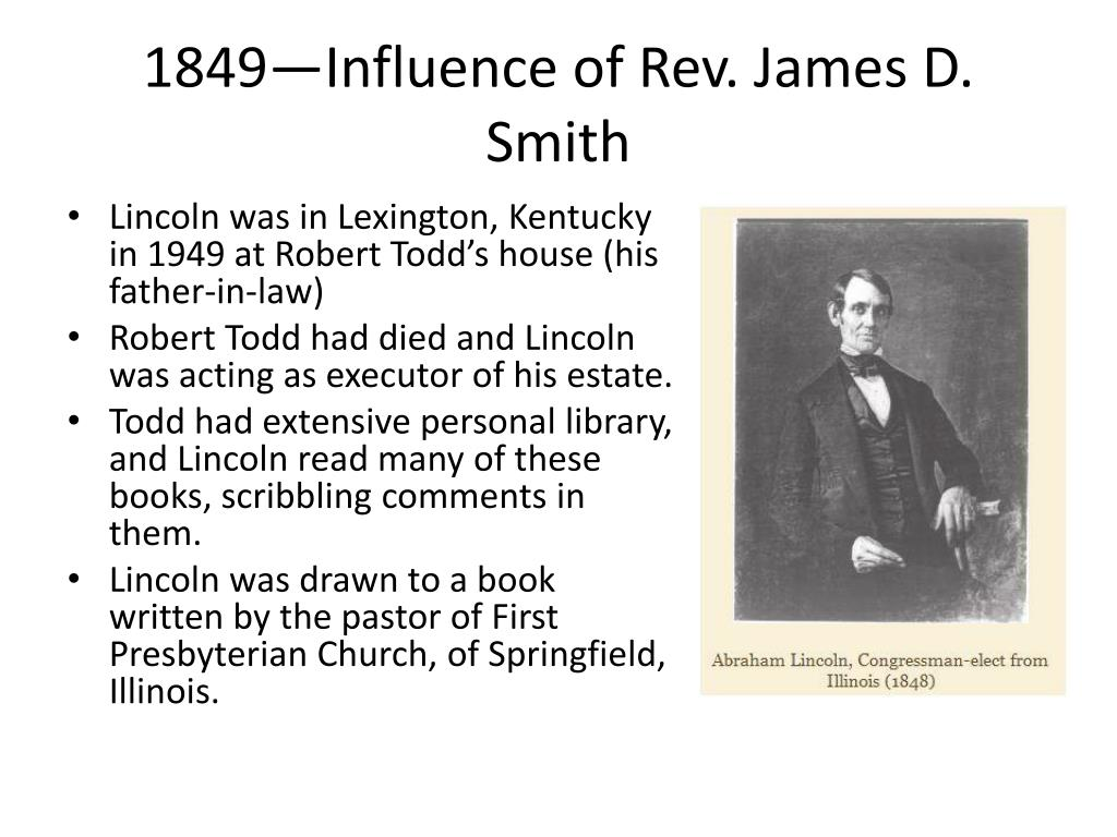 PPT - The Faith Journey of Abraham Lincoln PowerPoint Presentation