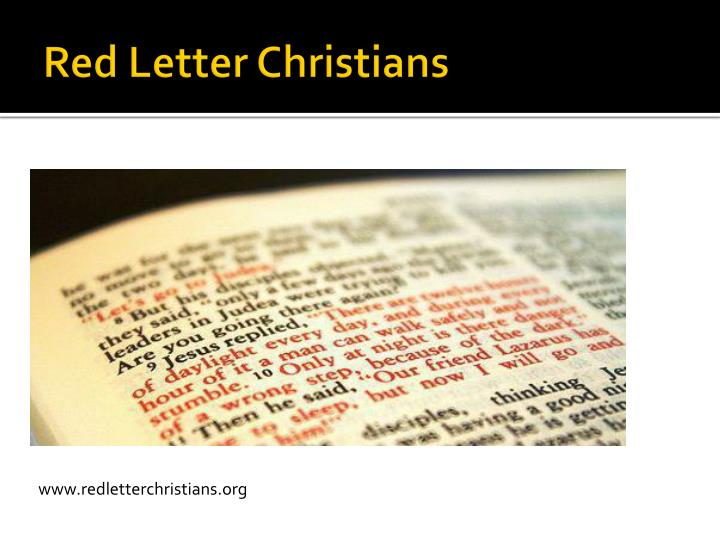 red letter christians ppt social for families powerpoint presentation 47440
