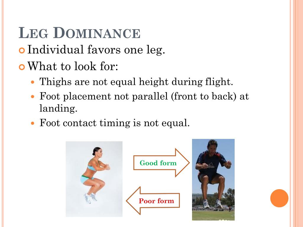 PPT - Prevention of ACL injury and the Tuck Jump Assessment