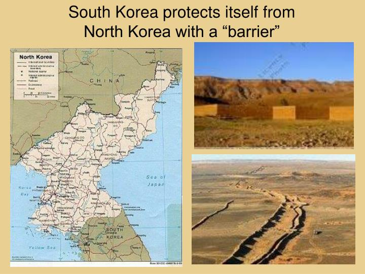 South Korea protects itself from