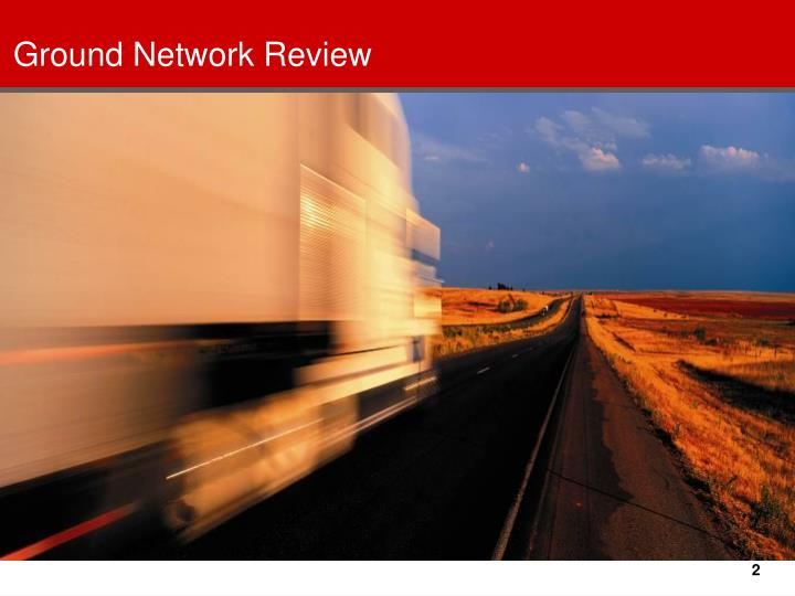 Ground network review