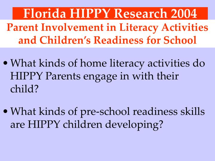 parent involvement in emergent literacy activities Video: activities to promote emergent literacy emergent readers and writers are exciting to work with this lesson will give you some ideas about what activities.