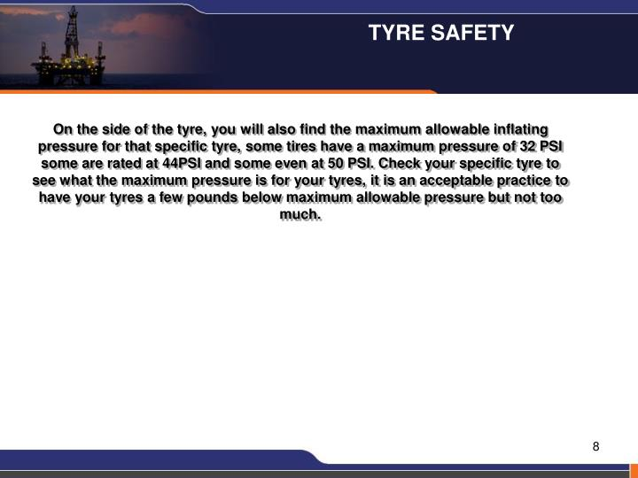 TYRE SAFETY