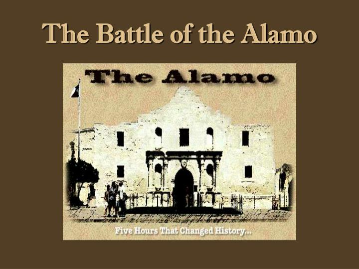 the battle of the alamo n.