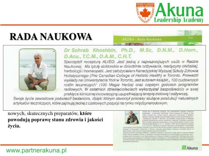 RADA NAUKOWA
