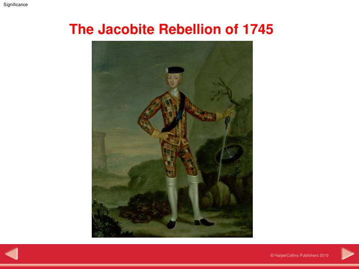 the jacobite rebellion of 1745
