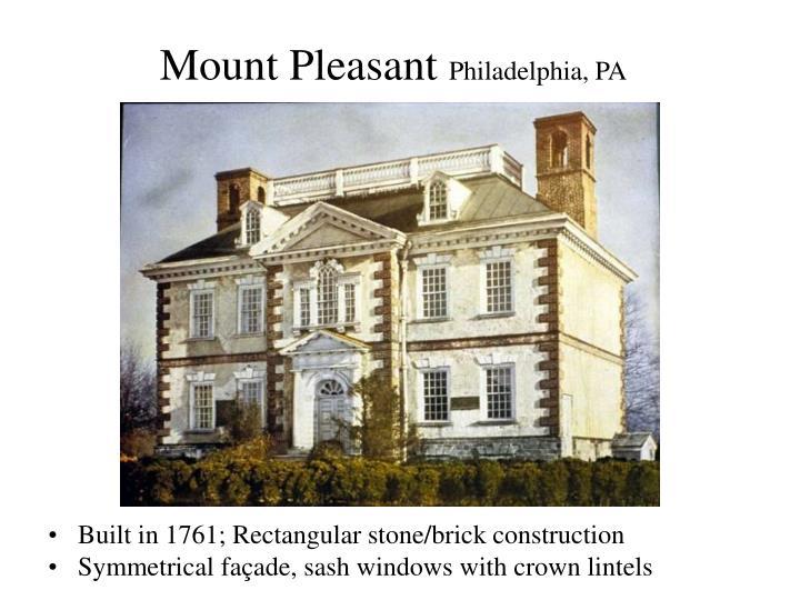 Mount pleasant philadelphia pa