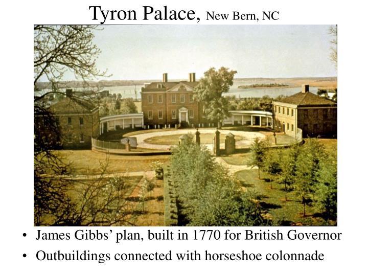 Tyron palace new bern nc