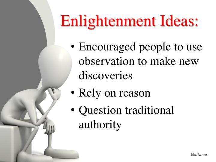Enlightenment Ideas: