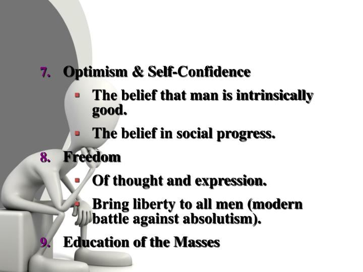 Optimism & Self-Confidence