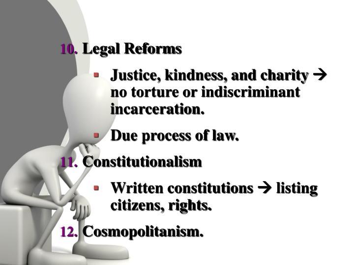Legal Reforms