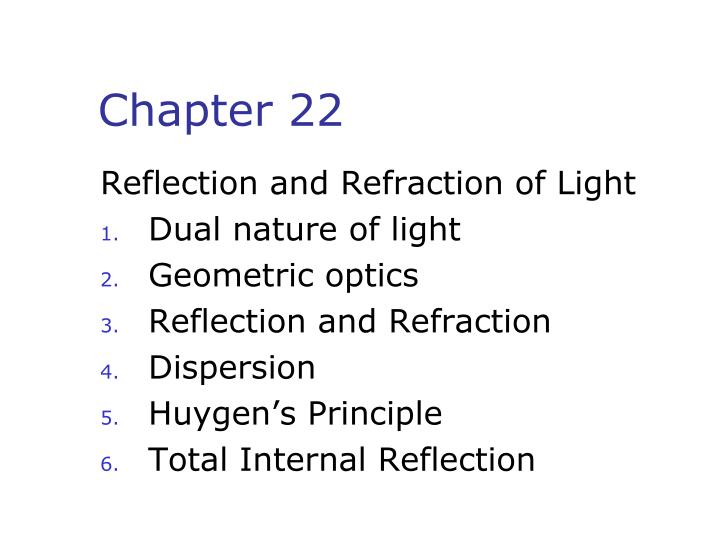 introduction to reflection and refraction essay