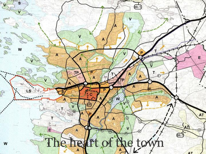 The heart of the town