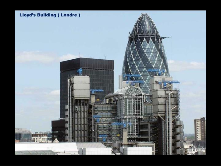 Lloyd's Building ( Londre )