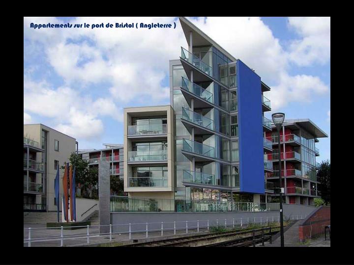 Appartements sur le port de Bristol ( Angleterre