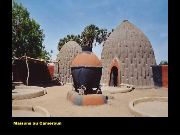 Maisons au Cameroun